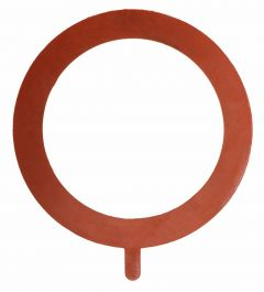 "Gasket Pipe Flange Red Rubber Ring 150# 6"" x 1/8"""