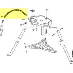 Tri Stand Chain Assy (=72092)