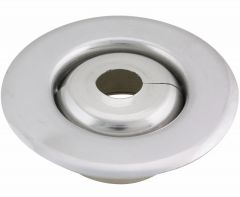 Escutcheon Replacement 2PC Alum 501R Split W/Skirt 1/2""