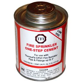 CPVC One-Step Cement Pint FS5 (12/CS)